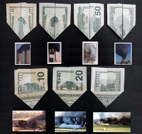 Secret Symbolism on the back of US$10, US$20, US$50, US$100
