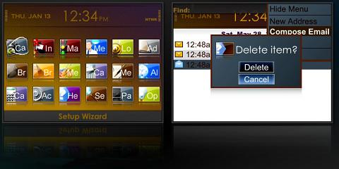 Aline Theme for BlackBerry