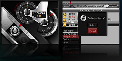 Analog Theme for BlackBerry