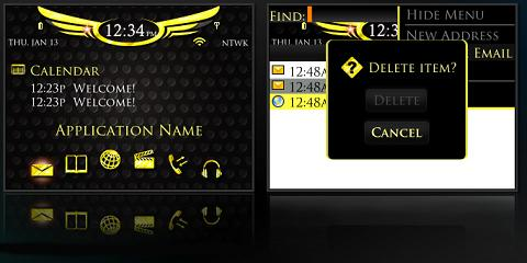 Blingin Theme for BlackBerry