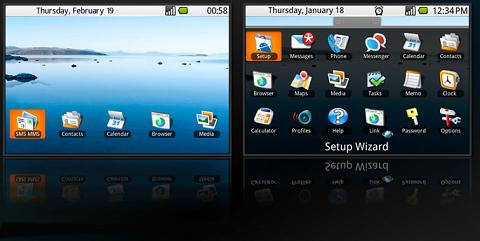 Droid Theme for BlackBerry