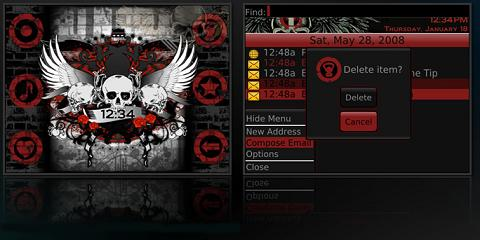 Eerie Theme for BlackBerry
