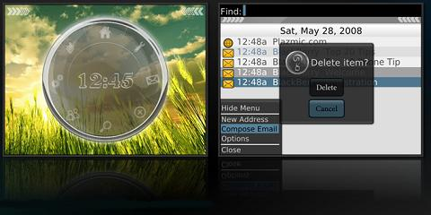 Focus Theme for BlackBerry