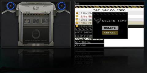 Jet Fighter Theme for BlackBerry