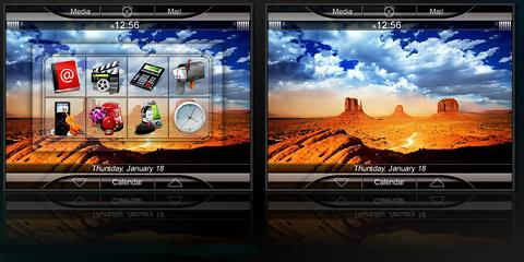 Noble Theme for BlackBerry