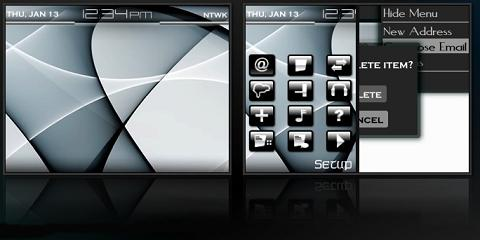 Opaque Theme for BlackBerry