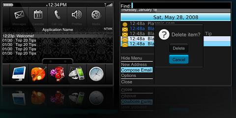 Opus Theme for BlackBerry
