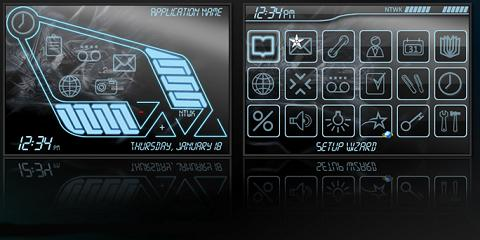 Sector Theme for BlackBerry