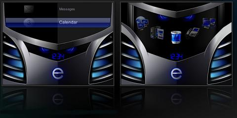 Ulterior Theme for BlackBerry