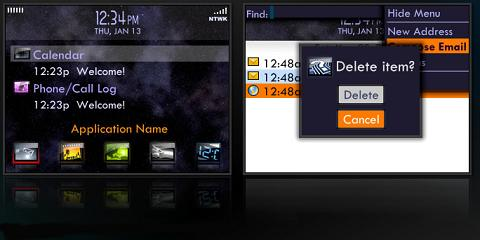 Zion-X Theme for BlackBerry