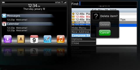 iBerry 3G Theme for BlackBerry