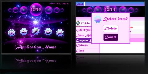 iHeart Theme for BlackBerry
