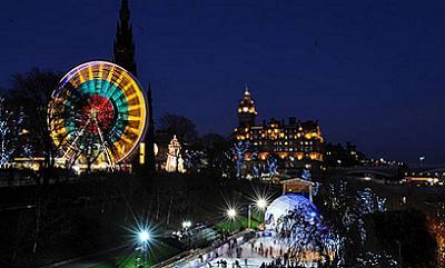 Christmas in Edinburgh, Scotland