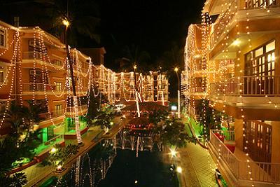 Christmas in Goa, India