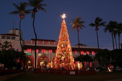 Christmas in Honolulu, Oahu