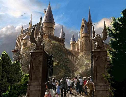 Gerbang Utama Hogwarts