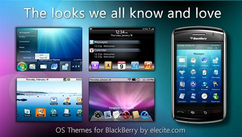 OS Themes for BlackBerry